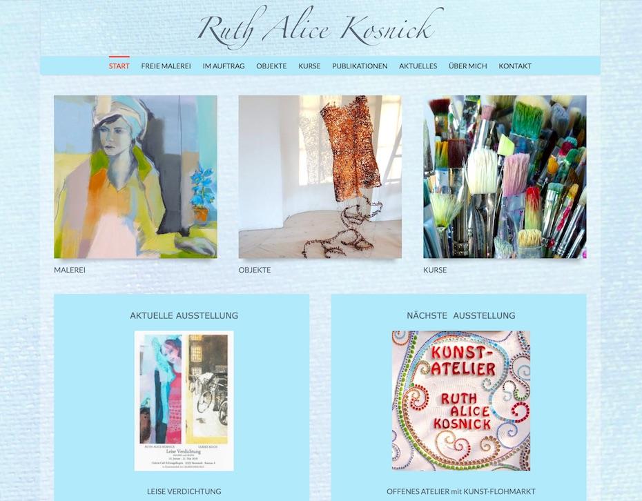 Kundenprojekt Ruth Alice Kosnick
